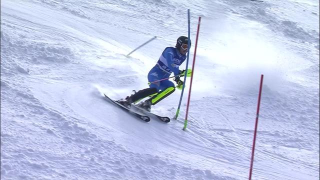 WK Junioren | Vinatzer in twee runs te sterk op slalom