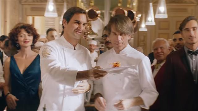 Федерер приготовил божественную пасту и растормошил скучную светскую вечеринку в рекламе Barilla