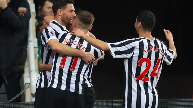 Newcastle fans delighted with Miguel Almiron's man of the march performance