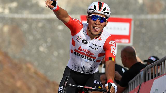 UAE Tour | Caleb Ewan wint vierde etappe UAE Tour