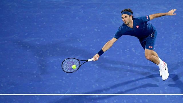 Federer a eu chaud contre Verdasco