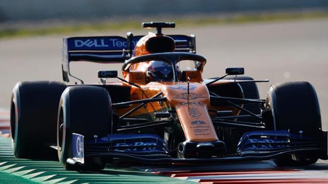 Carlos Sainz prolonga el buen momento de McLaren en Montmeló marcando el mejor tiempo de la sesión