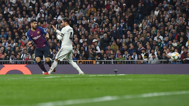 Une accélération de Dembélé, la finition de Suarez et le Barça a calmé Bernabeu