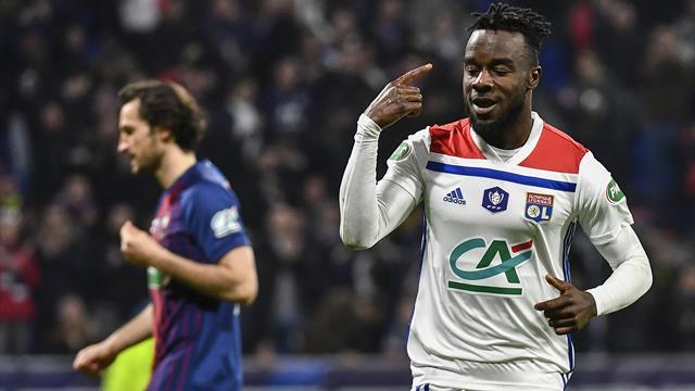 Copa de Francia, O. Lyon-SM Caen: El rival del Barcelona en Champions se mete en semifinales (3-1)