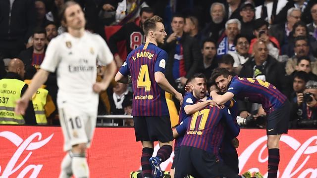 Le 5 verità di Real-Barcellona 0-3: Ter Stegen e Suarez al top, ai blancos resta la Champions