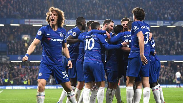 Kepa dropped as Chelsea bounce back to beat Tottenham