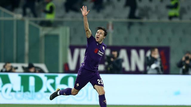 Chiesa inspires Fiorentina comeback in his 100th match