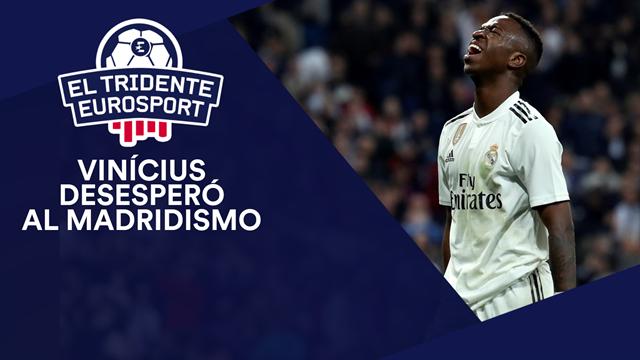 El Tridente Eurosport: Vinicius desespera y el Barça se acostumbra a arrasar en el Bernabéu