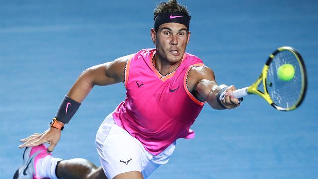 Rafael Nadal affiche sa méfiance avant d'affronter Kyrgios — Tennis