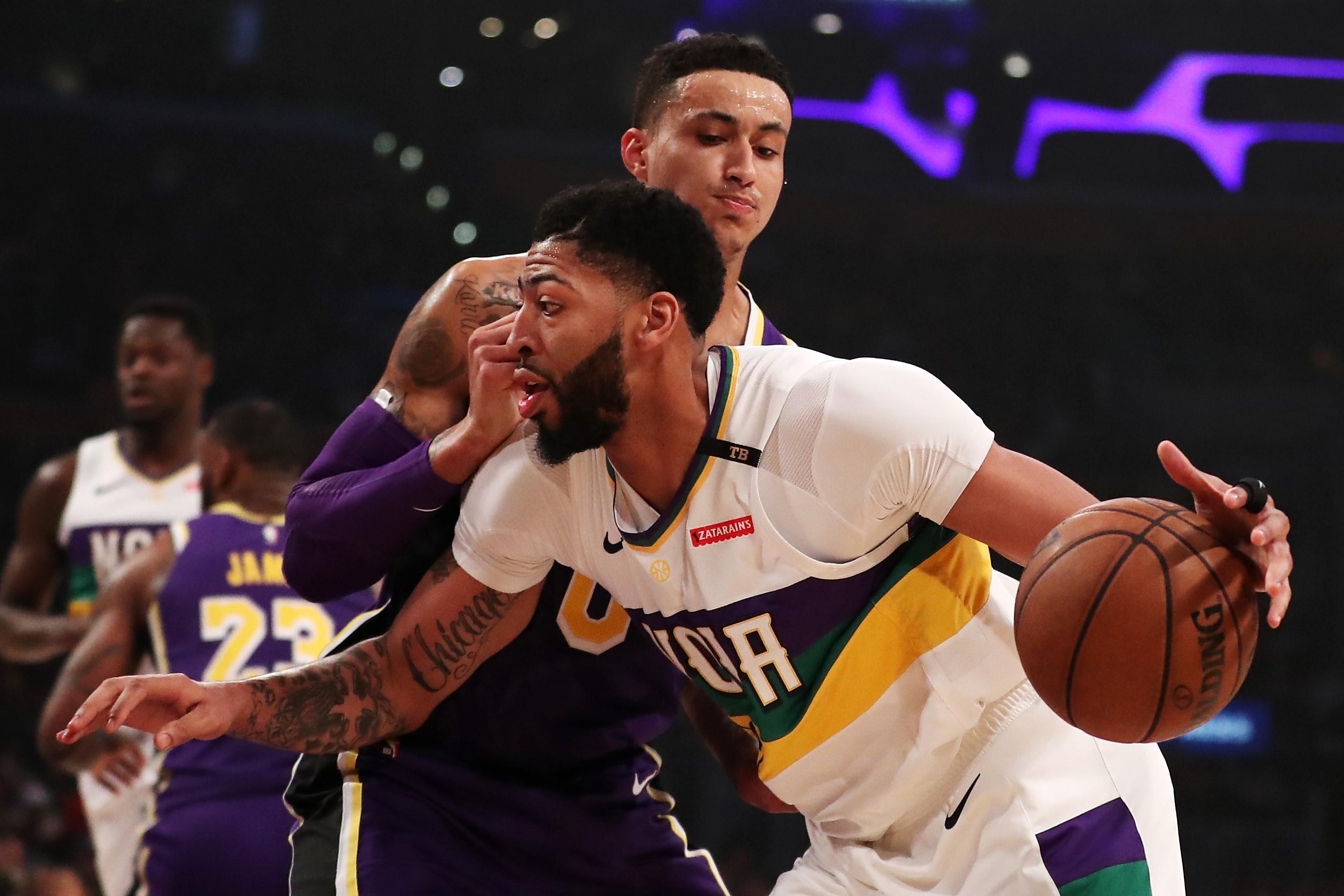 Anthony Davis (New Orleans Pelicans) vs Kyle Kuzma (Los Angeles Lakers)