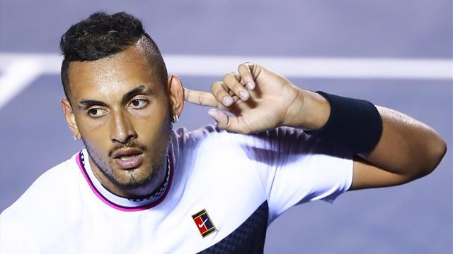 """Nadal fustige le """"manque de respect"""" de Kyrgios... qui lui répond sèchement"""
