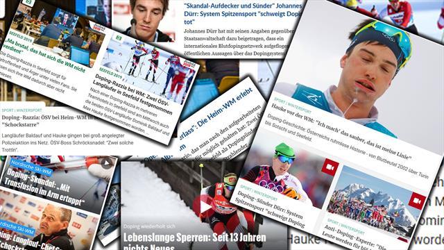 """Österreichische Pressestimmen zum Dopingskandal: """"Dümmer geht's nicht"""""""