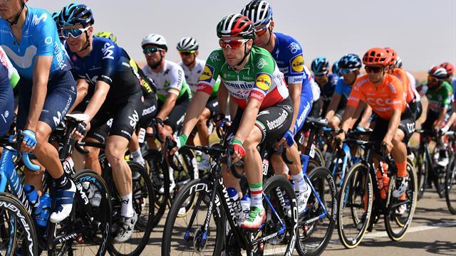 Ciclismo, Uae Tour: Viviani vince in rimonta la 5a tappa