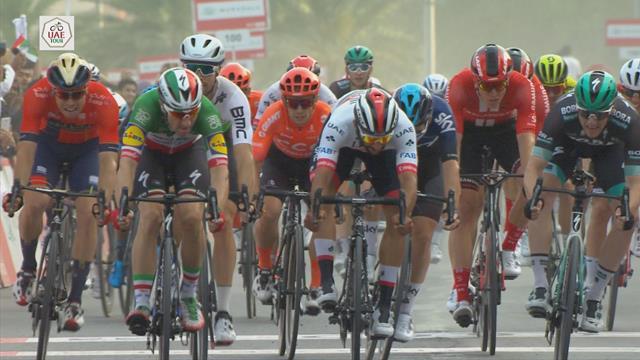 Viviani wins sprint on Stage 5 in UAE