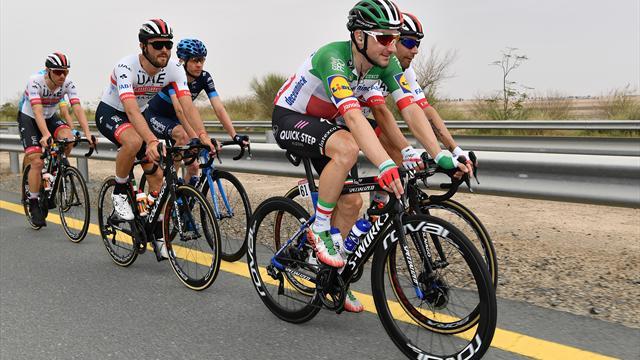 UAE Tour   Viviani sprint naar winst in vijfde etappe