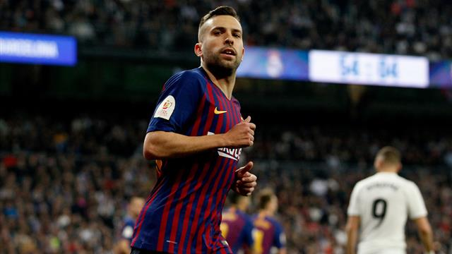 Jordi Alba: Barcelona full-back signs new contract with £428m release clause