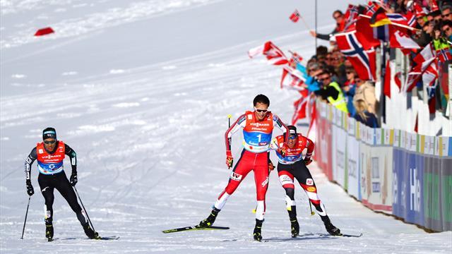 WK Seefeld   Riiber wint goud op Noordse Combinatie