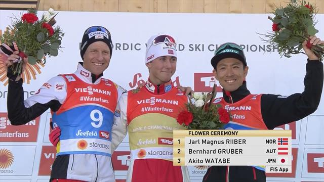 Highlights: Riiber triumphs in Nordic Combined