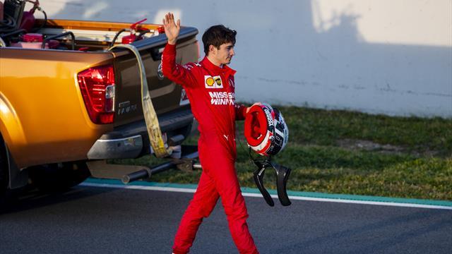 Leclerc fait tomber tous les temps, Mercedes toujours dans le flou
