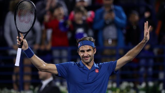 """Federer : """"Il y avait un très bon niveau, j'ai peut-être eu un peu de chance aussi"""""""