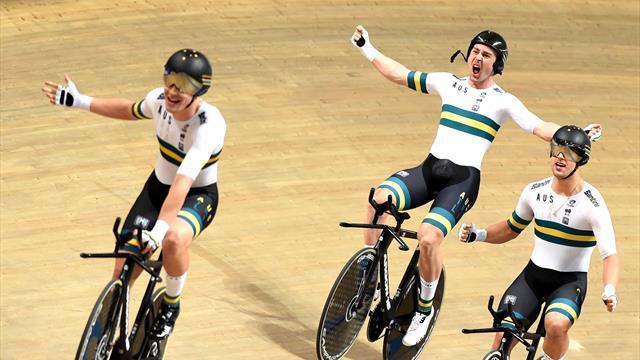 Le titre et le record : les Australiens ont encore repoussé les limites sur la poursuite