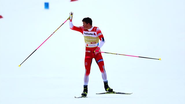 Imperious Klaebo wins sprint in Drammen