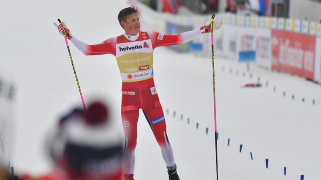 Klaebo macht alles klar: So holte Norwegen Staffel-Gold