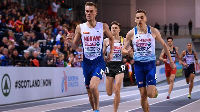'Stupid' - Ingebrigtsen disqualified from European 1500m heat