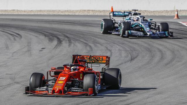 Mercedes zurückhaltend, Ferrari unsicher: Top-Teams stapeln tief