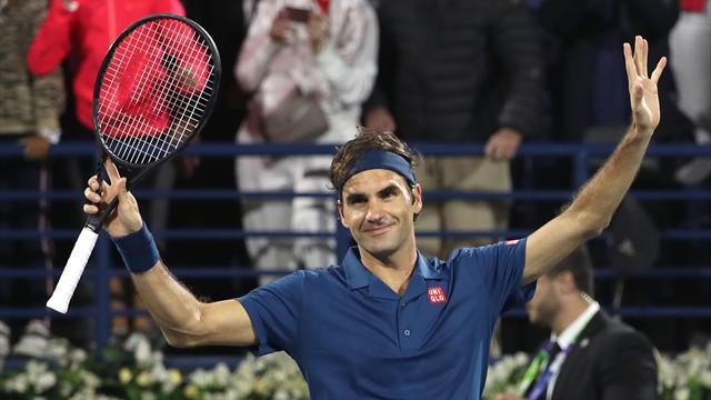Federer sets up Tsitsipas final in bid for 100th title
