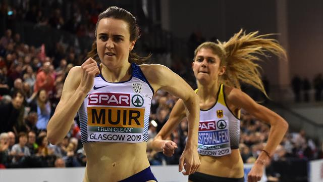 Marvellous Muir wins 3000m gold in style
