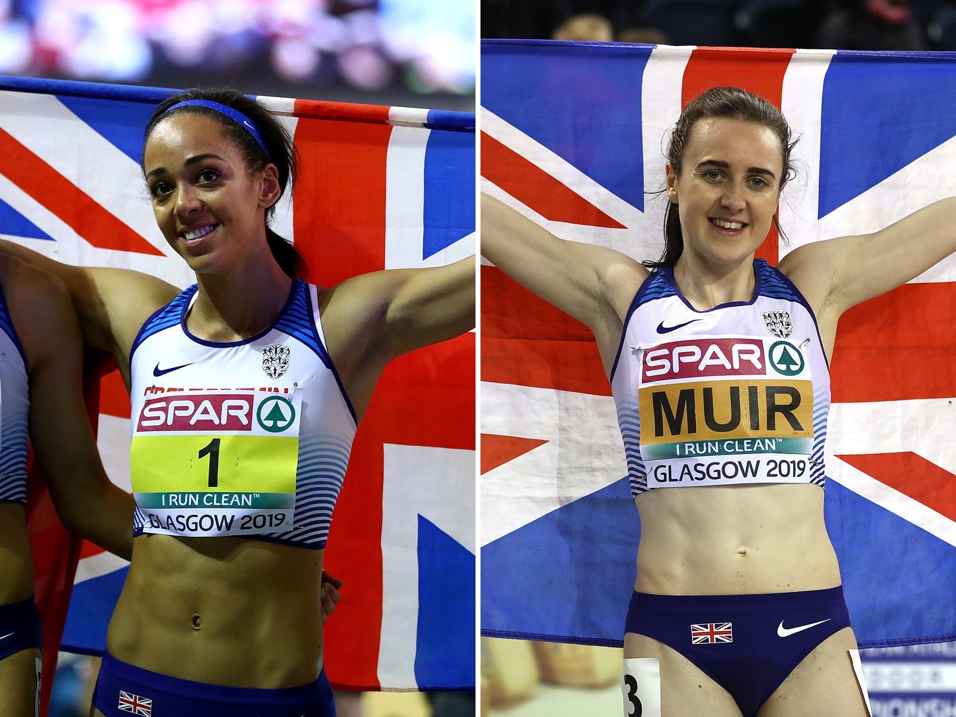 Katarina Johnson-Thompson, Laura Muir