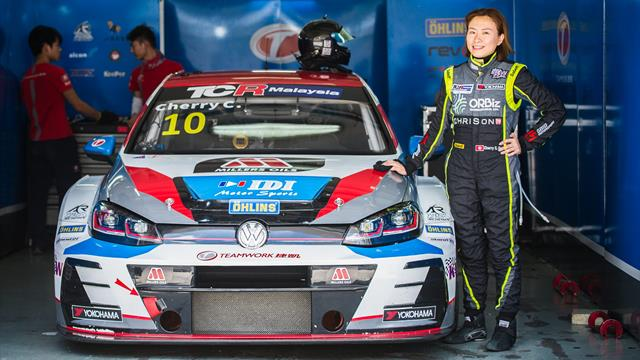 Huff, vainqueur en WTCR, inspire Cherry Cheung