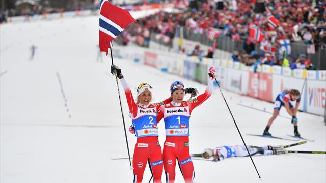 Dobbelt norsk – se Johaug smadre konkurrentene