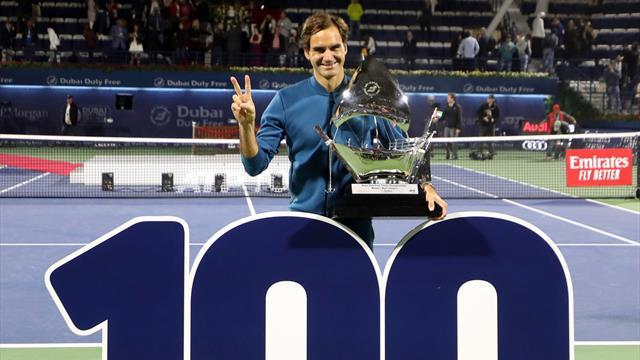 Roger Federer, 100 títulos en 10 momentos