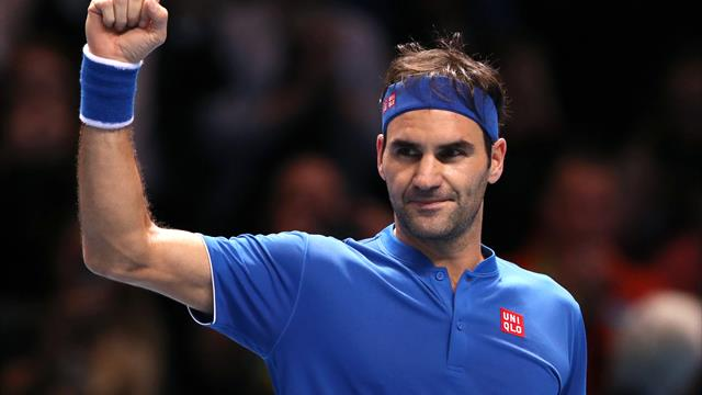 Roger Federer secures century of tour-level titles with victory in