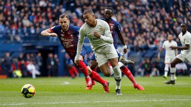 Doppietta del solito Mbappè, il Psg vince 2-1 a Caen in rimonta