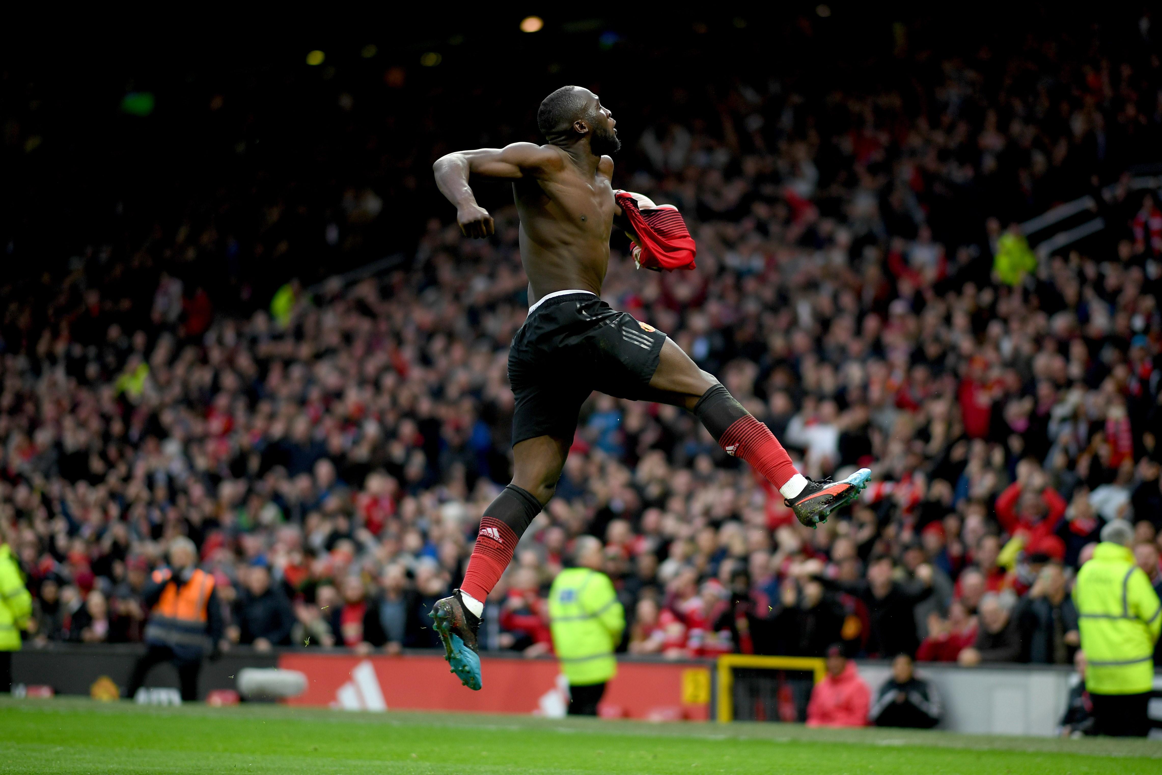 Romelu Lukaku Manchester United)