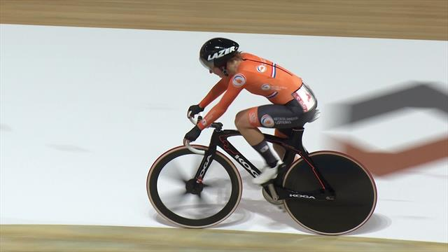 Incredible Dutch duo win gold in the Madison
