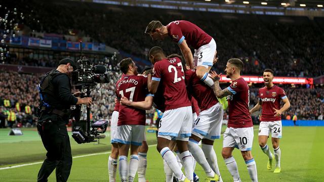 West Ham renversant face à Huddersfield