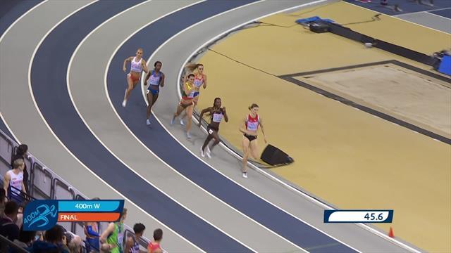 EK Indoor | Brons voor de Witte op 400 meter