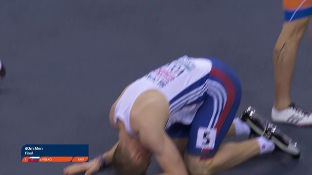 Jan Volko edges out Emre Zafer Barnes to seal gold