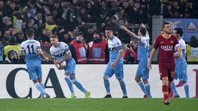 La Lazio corrige la Roma