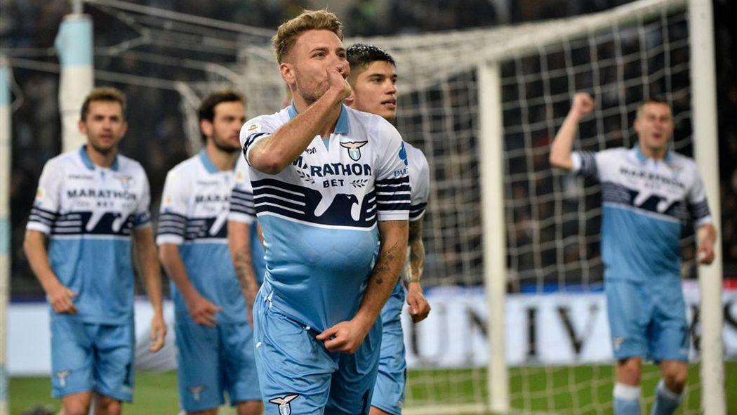 Afbeeldingsresultaat voor lazio roma 3-0 acerbi