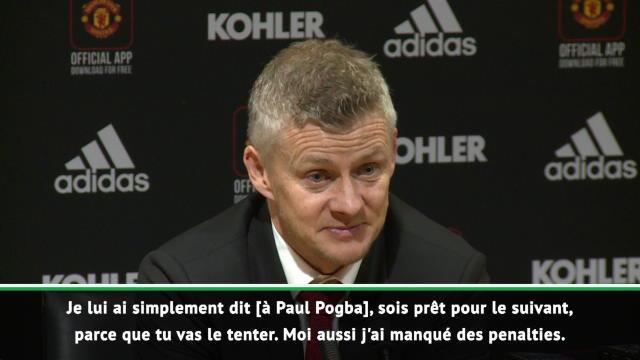 """Solskjær défend Pogba : """"Aujourd'hui ce n'était pas son jour mais..."""""""