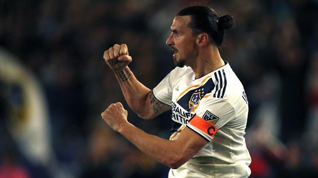 Ibrahimovic marque encore, le Galaxy se venge de Houston
