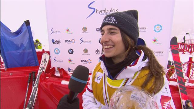 Perrine Laffont feeling great after another globe