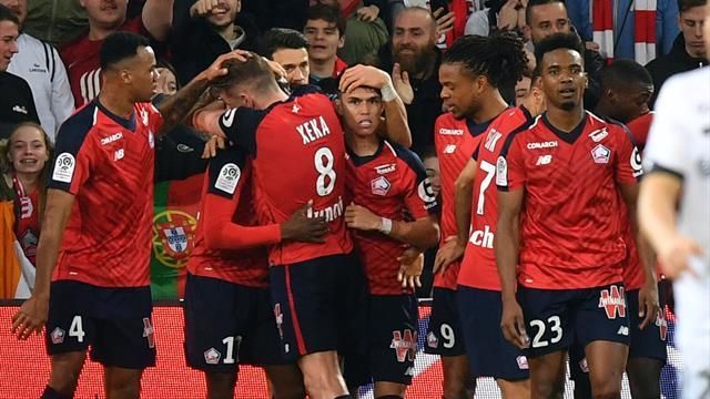 Lille et Nice retrouvent le succès, Guingamp remercie Caillard