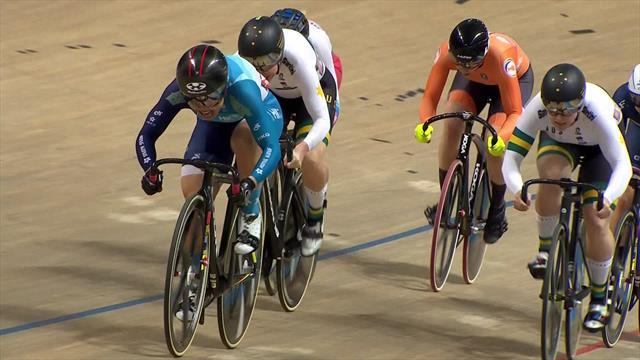 Lee Wai Sze powers to second gold of the week in Keirin final