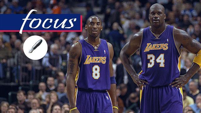Shaquille O'Neal e Kobe Bryant, nemici-amici: la coppia più controversa della storia NBA